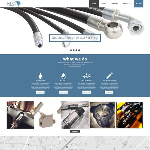 Web design for JABHAI