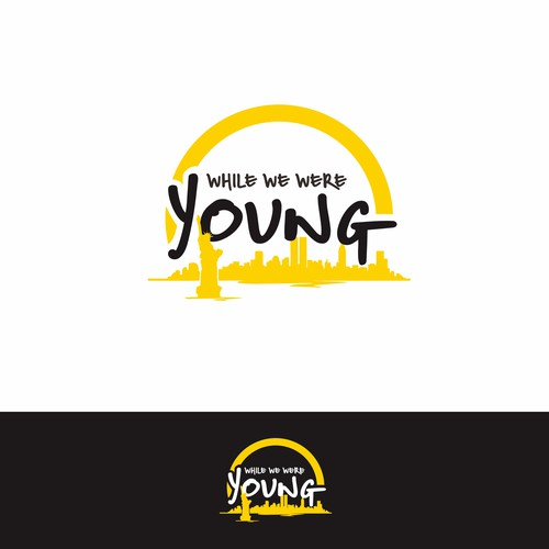 Logo concept for While We WEre Young