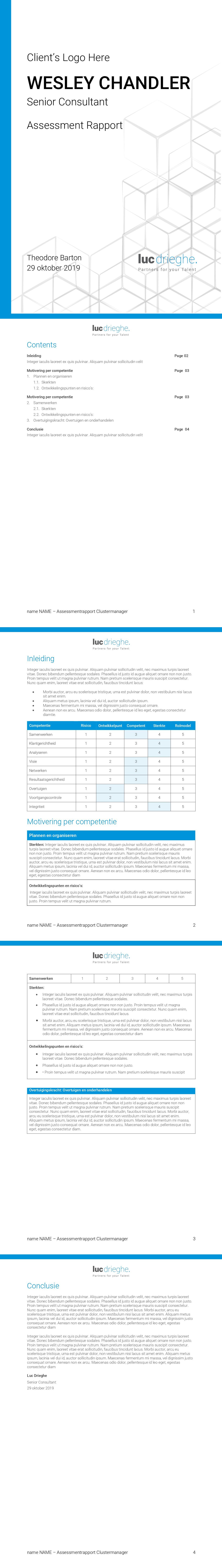 Word-template voor HR-adviesbureau