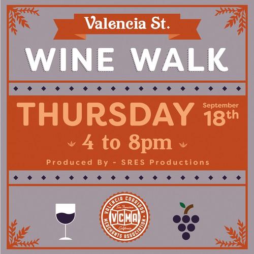 Valencia St. Wine Walk