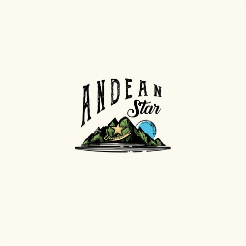 Vintage logo for food company