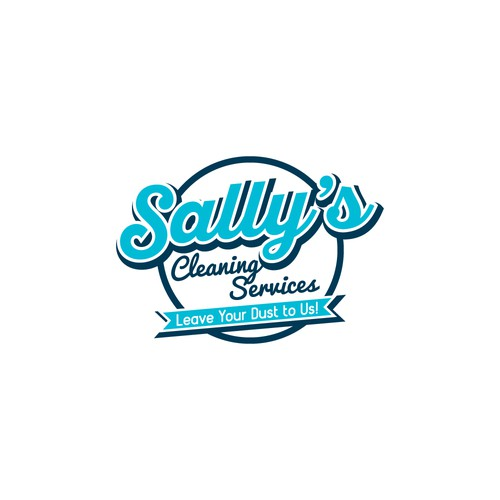 sally's cleaning services logo