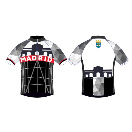 Cycle jersey representative of the city of Madrid / Maillot ciclista