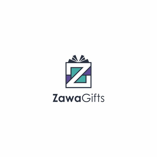 Playful Logo for ZawaGifts