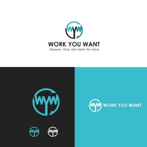 Work You Want Logo design