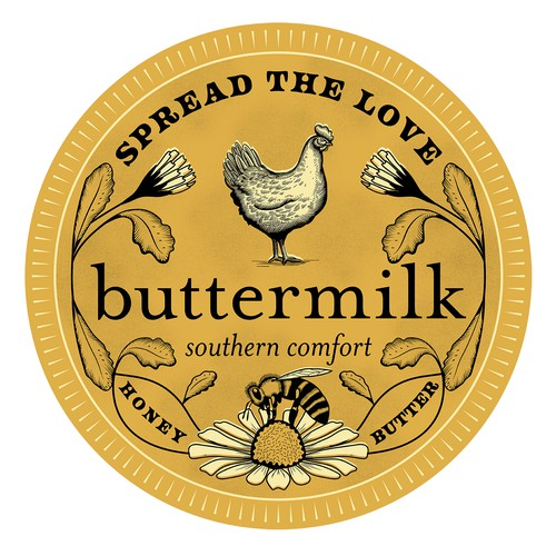Label for Buttermilk