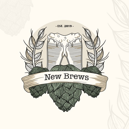 Beer, logo design