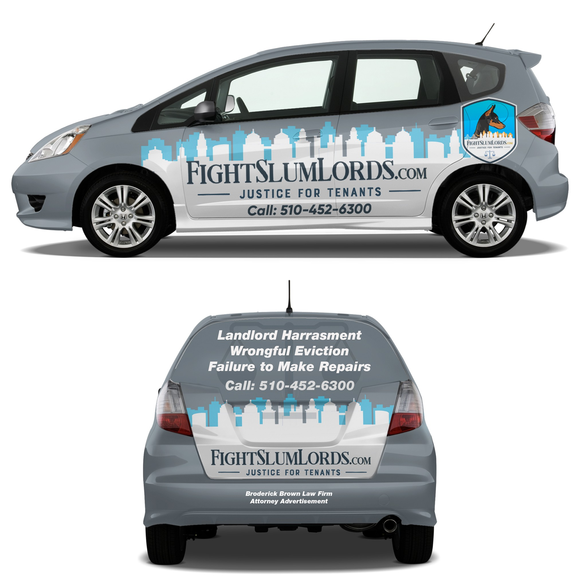 Car Wrap for Law Firm