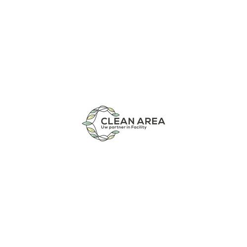kragtig logo huisstijl ontwerp voor schoonmaakbedrijf