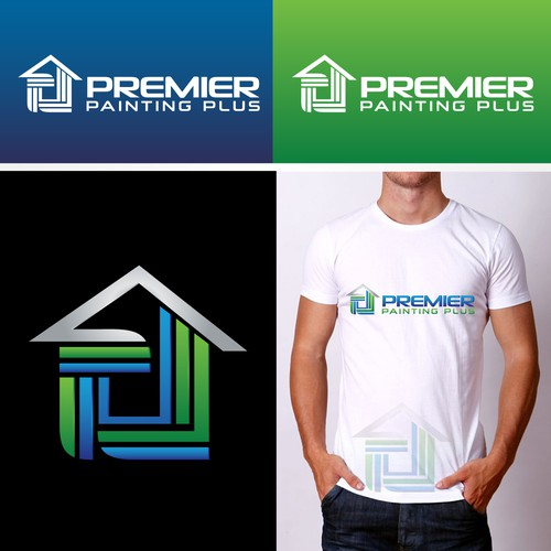 Create a winning design logo for Premier Painting Plus