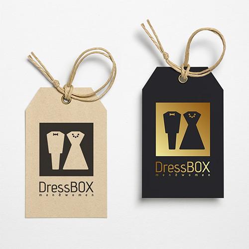 Logo-Design: DressBOX