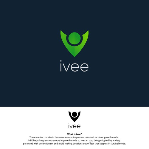 The concept of the logo for Ivee