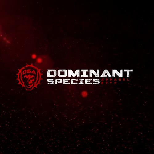 Logo for Dominant Apparel