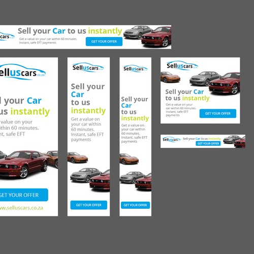 HTML5 Banners for Google Display - Selluscars.co.za