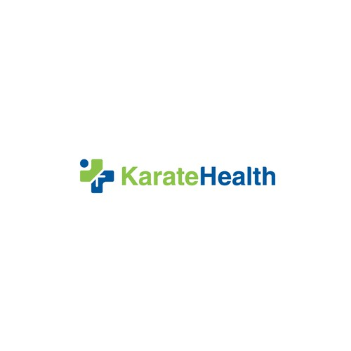 Fun Logo logo for a for Karate Health