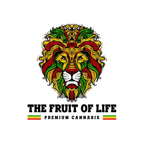 medical marijuana logo/product line rastafarian style