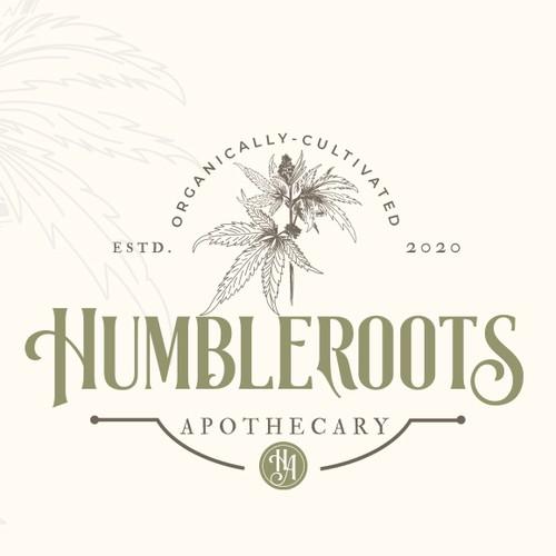 Natural, organic, Hemp/cbd business logo