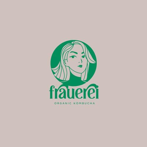Feminine Logo Kombucha