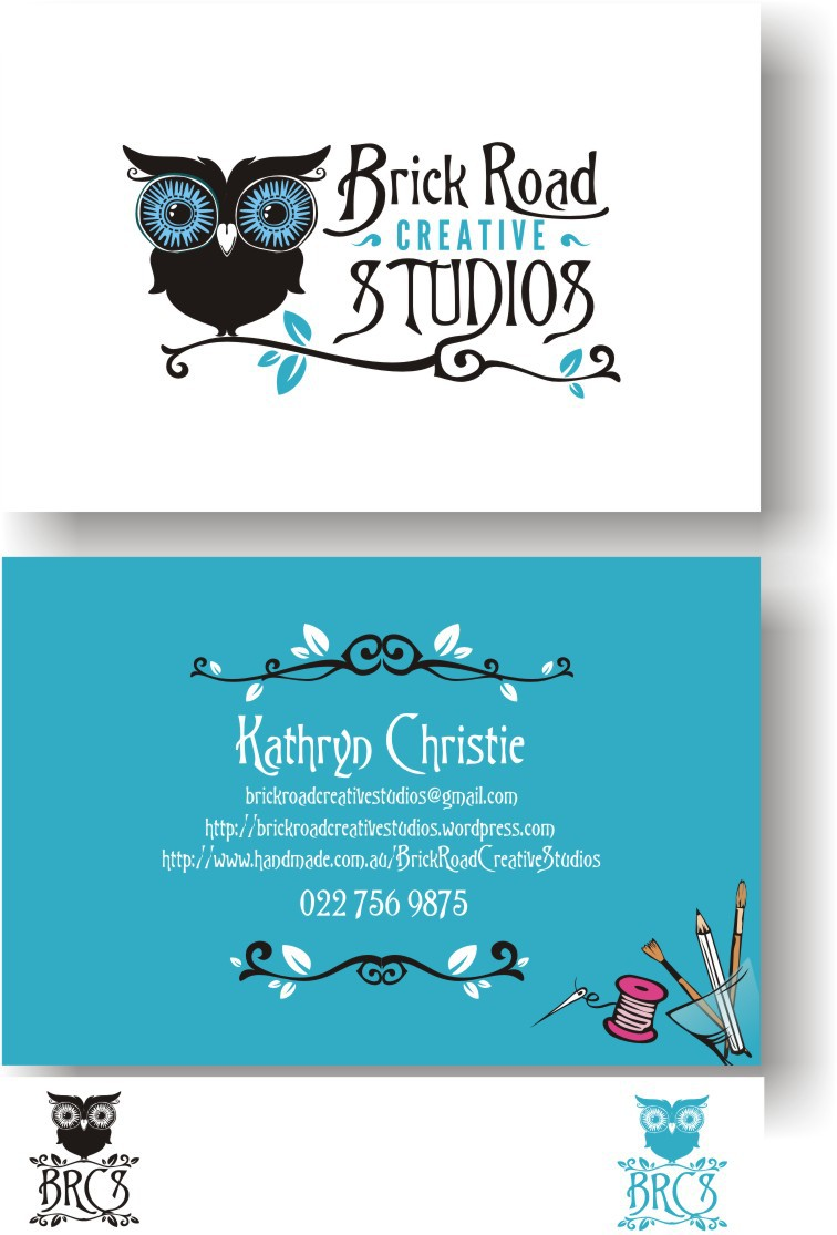 Creative minds needed! Brick Road Creative Studios needs a new logo and business card