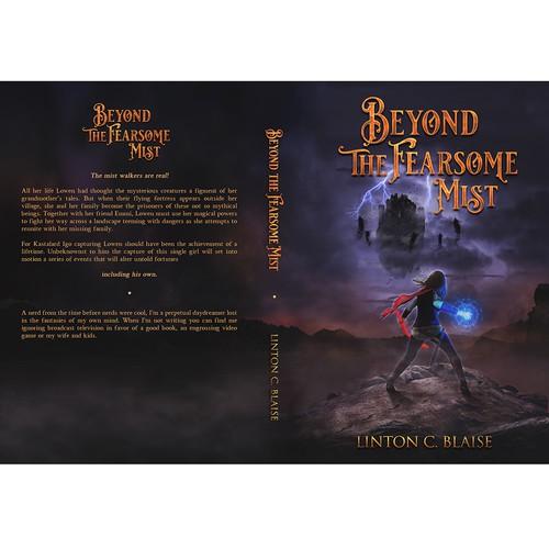 Design an eye catching fantasy novel cover!