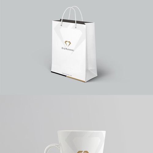 Shopping Bag and Mug Design