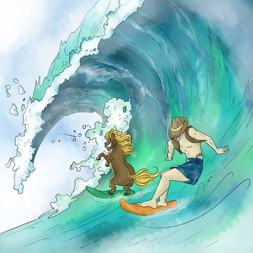 PONY SURF