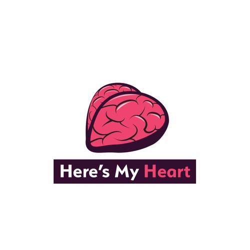Here's My Heart Logo Design