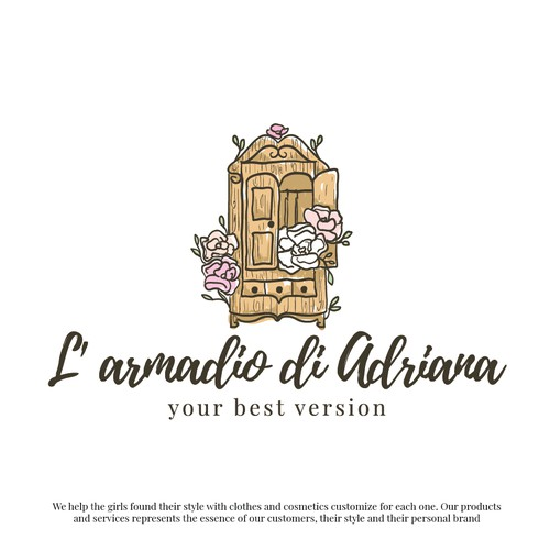 Adriana clothes and cosmetics