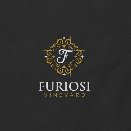 Vintage Concept For Vineyard
