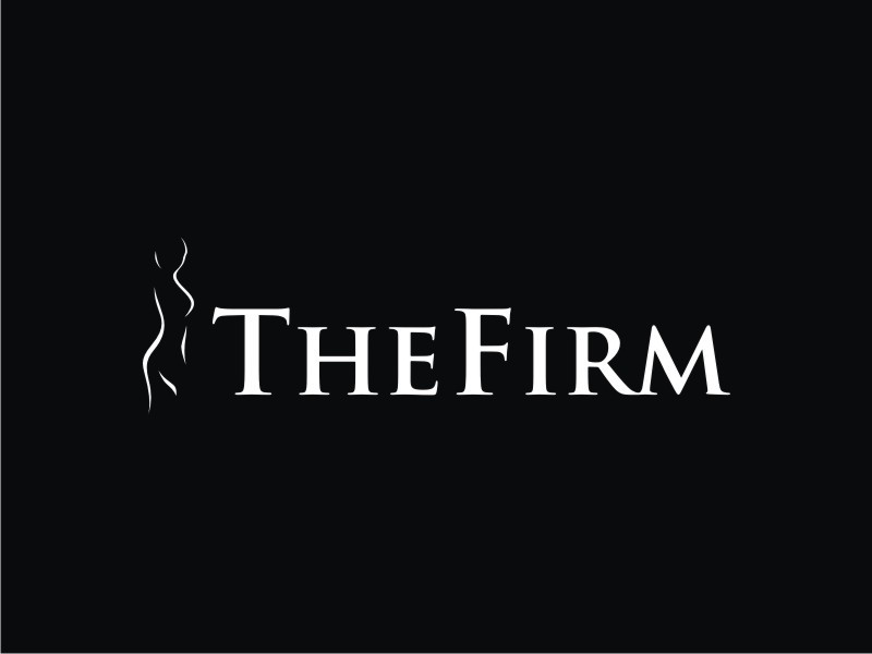 Create an EXCLUSIVE, STRONG, SLEEK logo for The Firm
