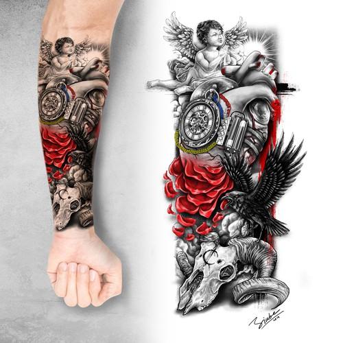 Tattoo Tribute to a best friend