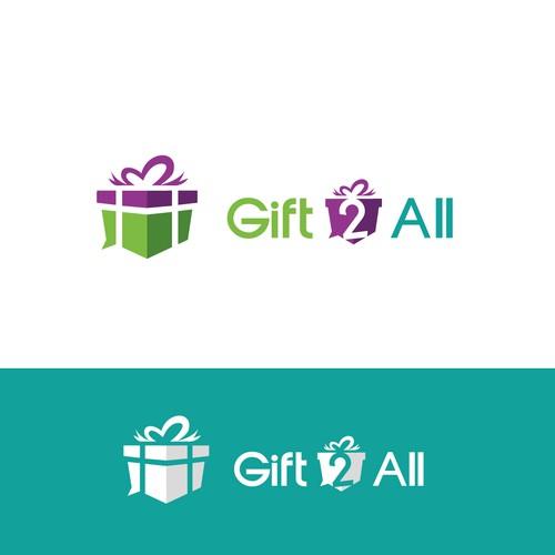 Bold logo for a Gift App