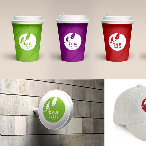 Create an iconic logo for a Tea Bar serving Modern Teas and Infusions