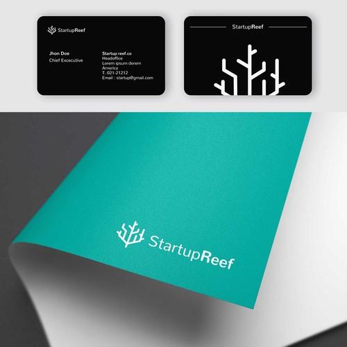"""Logo for Startup Incubator """"StartupReef"""""""