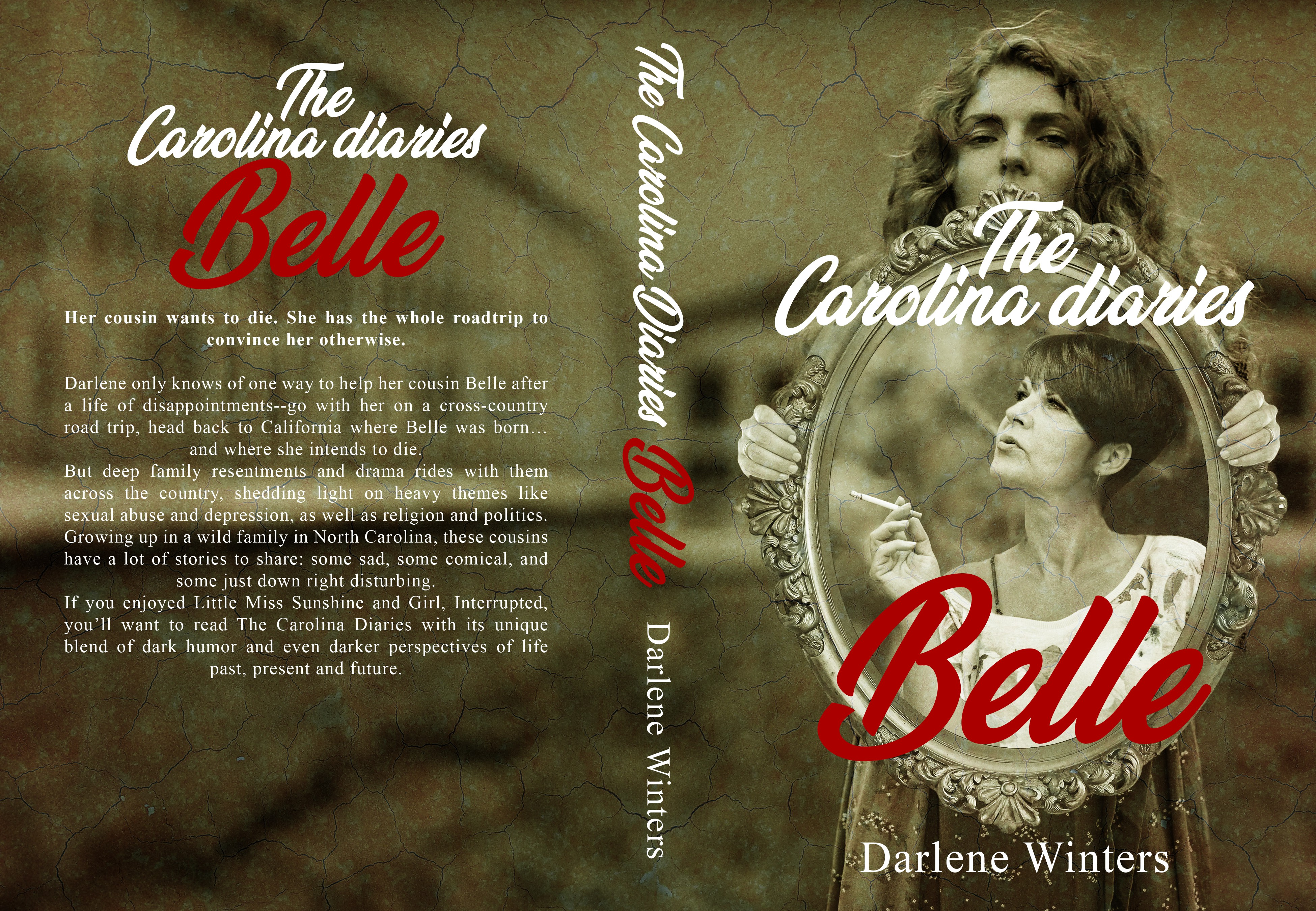 Cover for memoir of a young girl victim of child abuse