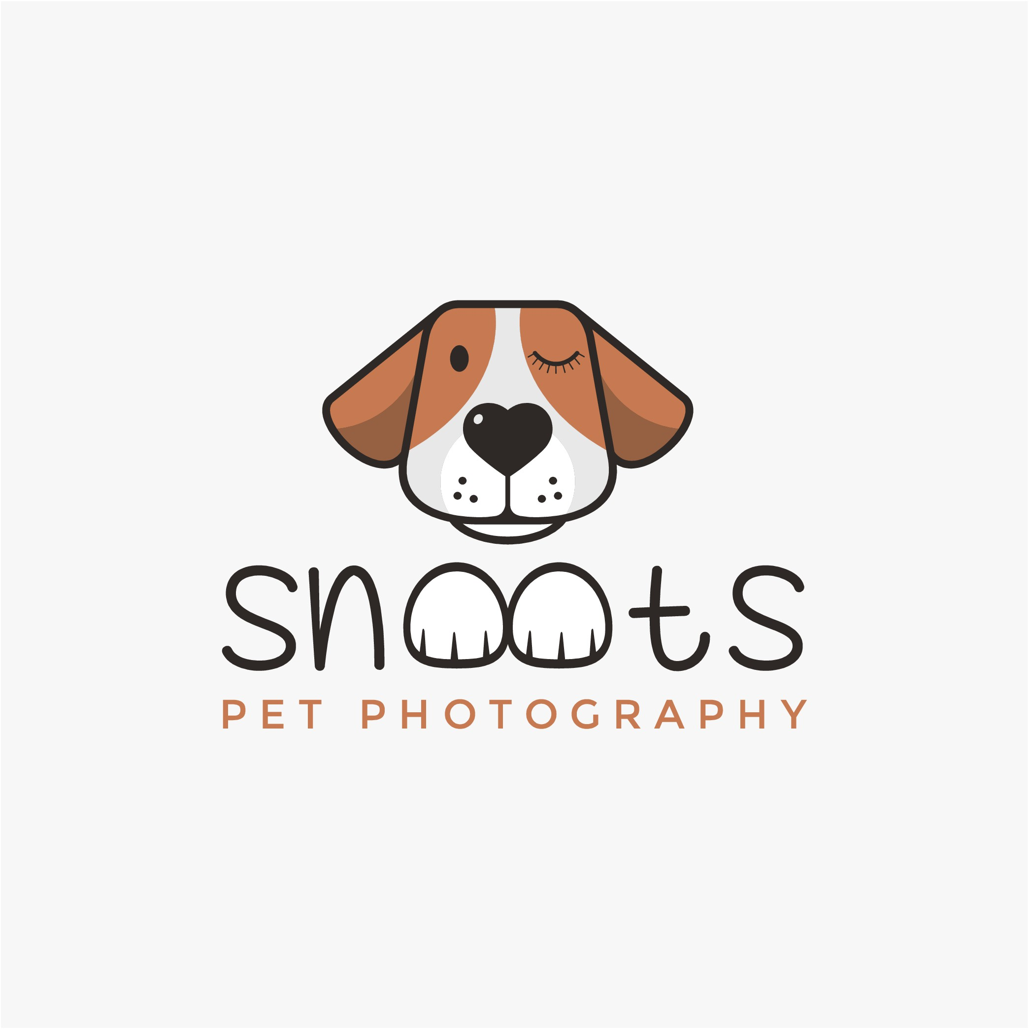 Need a snoot to boop! Fun, energetic pet portrait business looking for mascot logo!