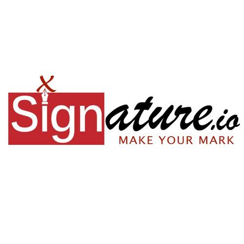 Help make Signature.io a success with your logo design!