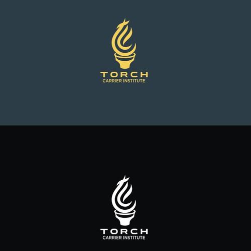 Logo design for Torch Carier Institute (TCI)