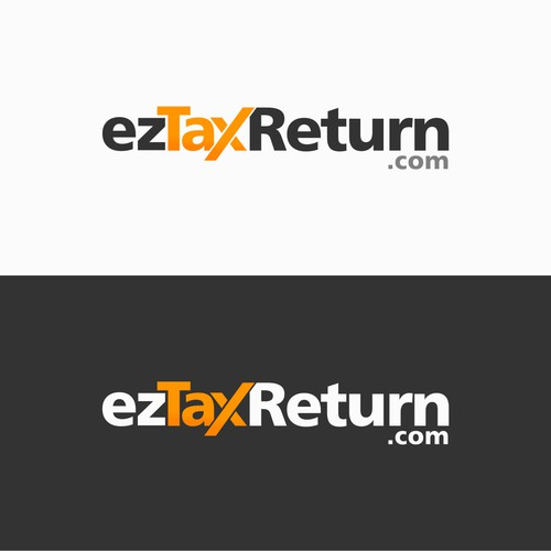 Create a new logo for an online tax filing website.