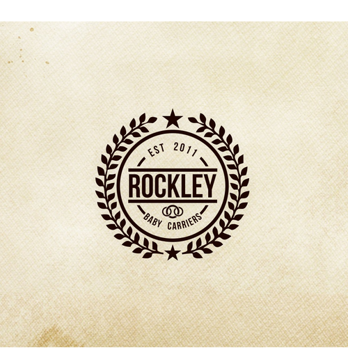 Logo for Rockley (a new baby carrier company)