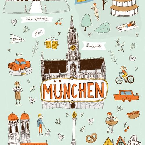 Munich Poster Design