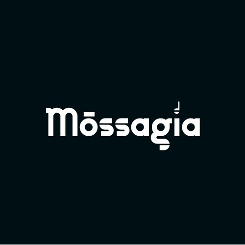Wordmark design concept  for a music and movement project