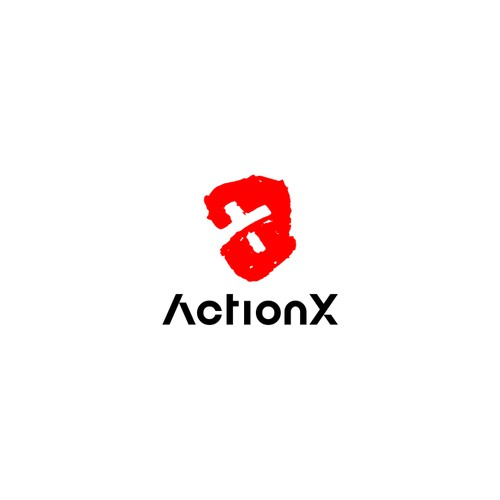 Action X Logo design