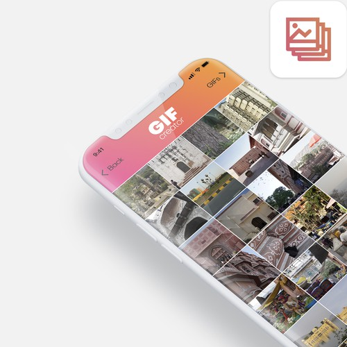 GIF app from photos and videos