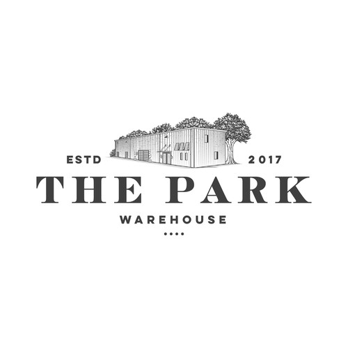 logo for the park warehouse