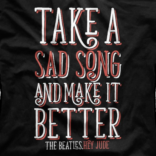 Beatles Song Excerpt T-Shirt