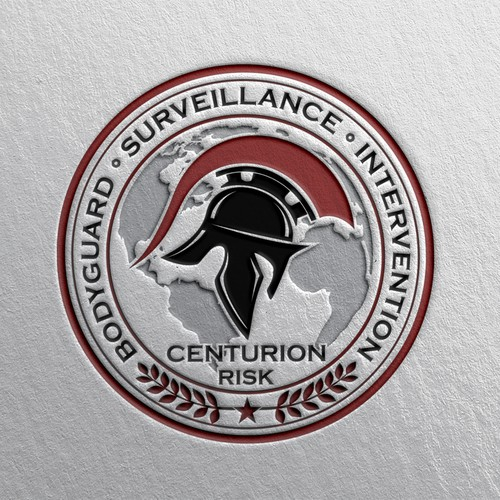 Bold logo for security