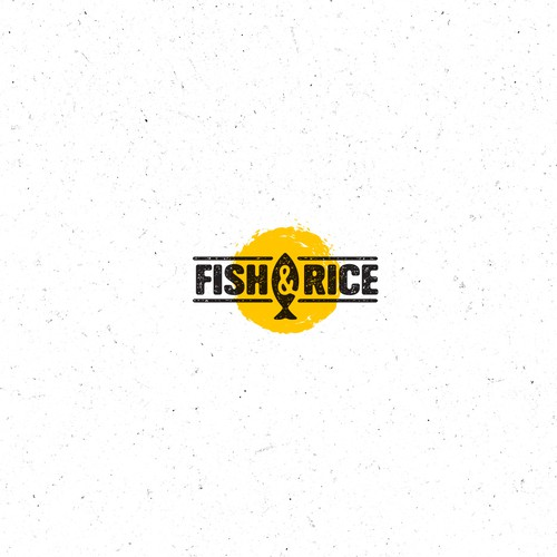 Hip Food Place logo Concept