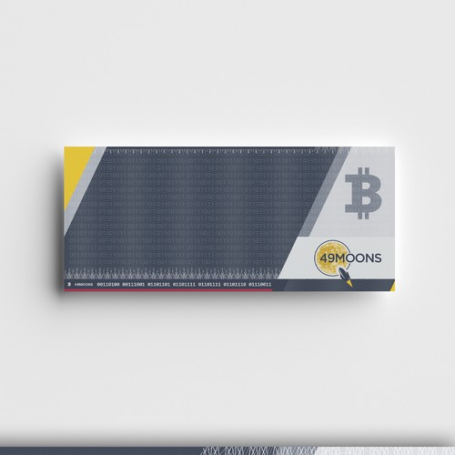 Paper wallet template