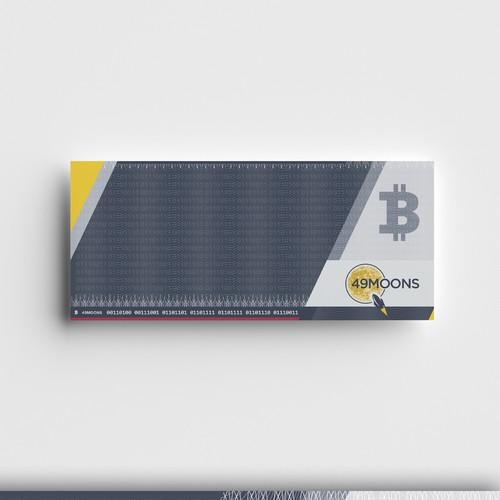 Paper wallet template
